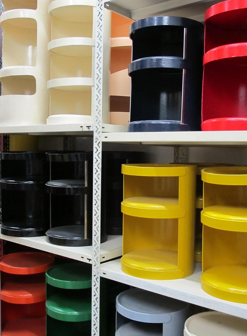 Storage collection. Photo courtesy of David John.