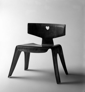 Child's Chair by Charles and Ray Eames, 1940. Image via Brooklyn Museum.