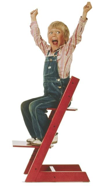Tripp Trapp Chair by Peter Opsvik.   Photo courtesy of    vam.ac.uk