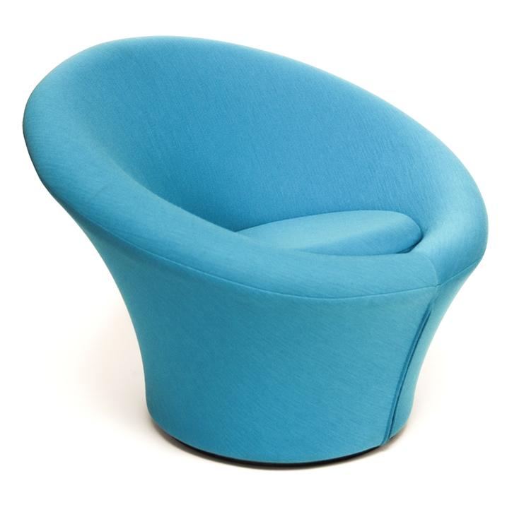Mushroom Jr. Chair by Pierre Paulin, 1960. Photo via  kinder  modern.com
