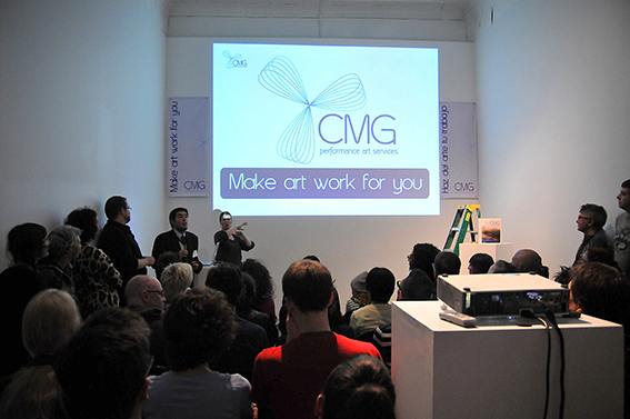 CMG Performance Art Services® Make Art Work for You!