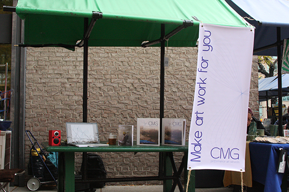 CMG Boot at Snt. Lawrence Market