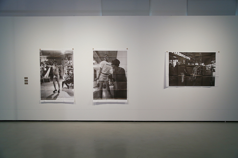 XE-ROY'S SERIES :  LE PÉRIPATÉTICIENNE,   THE PERFORMATIC QUICKY   &EGO(S)TRIP     Photocopies over paper  2012 - 2014