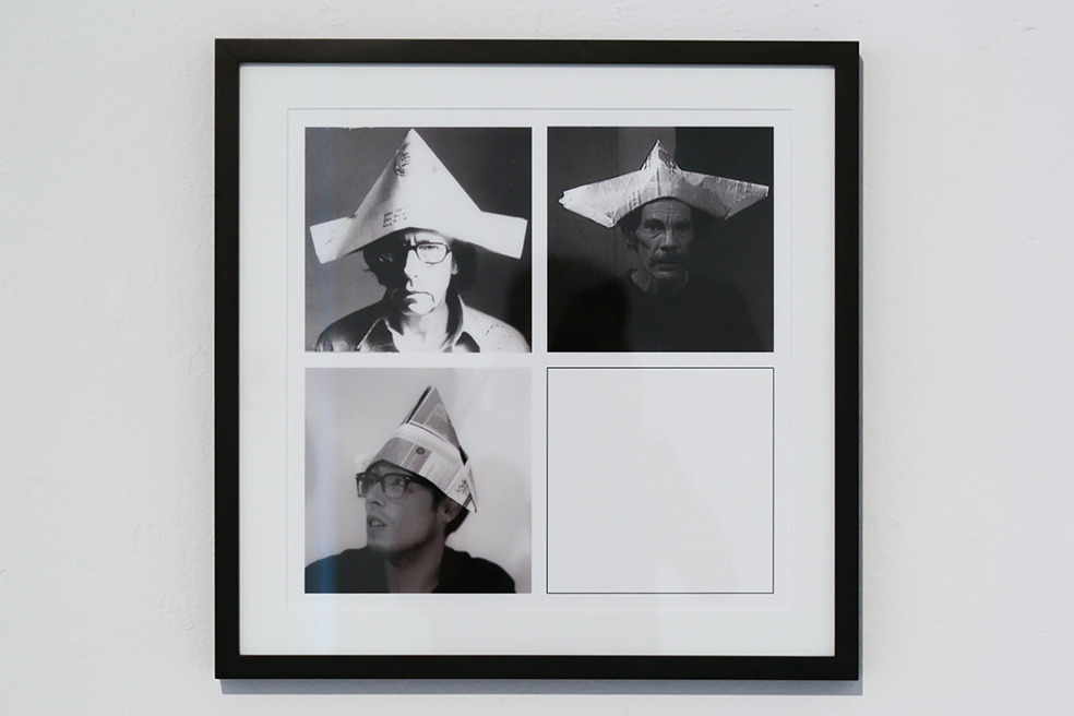 THE DUMMIES' CONSCIOUSNESSOR THREE GOOD FOR NOTHING    Re-formance sweet Re-formance series  Photo collagues  2014  2014