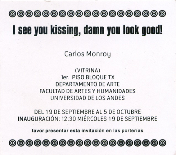 Invitación I see you kissing.jpg