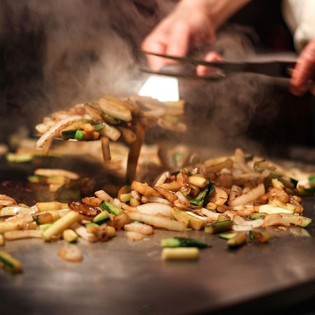 Anyone finish their veggies before the rice is even served?? . . . . #knoxville #knoxvilletn #knoxeats #knoxvilletennessee #knoxrocks #865life #easttennessee #hibachi