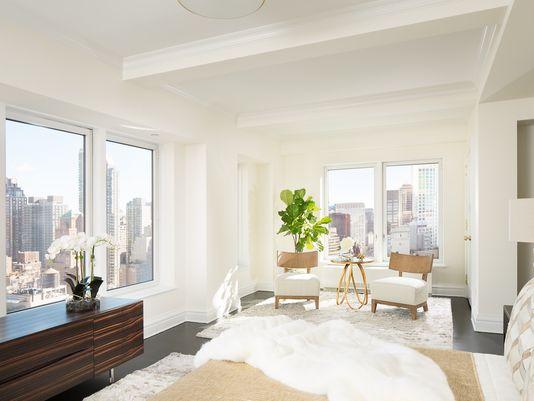 The Trump building's penthouse has stunning views of New York City. (Photo: Scott Richard)