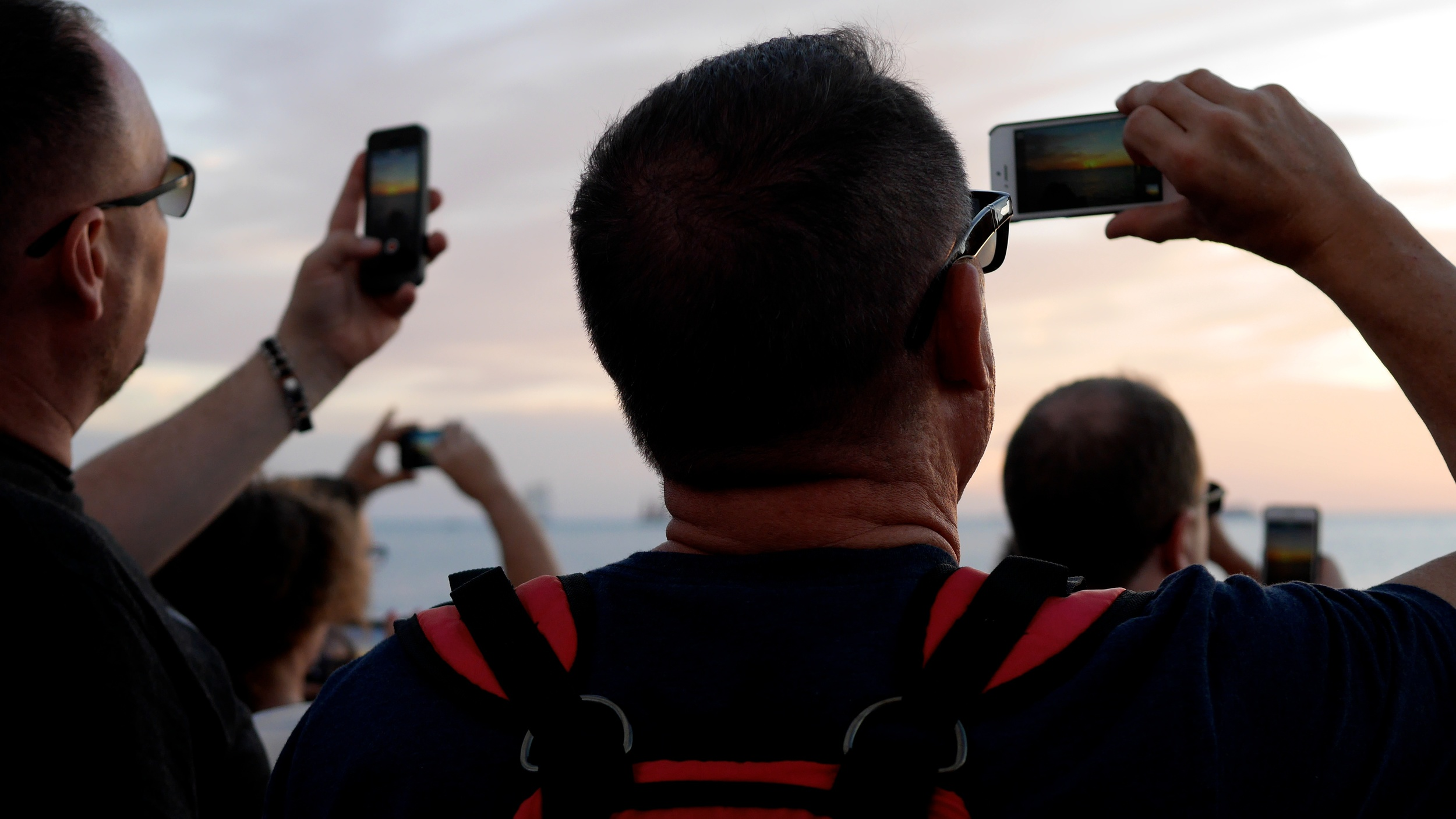 Smart Phone Sunset