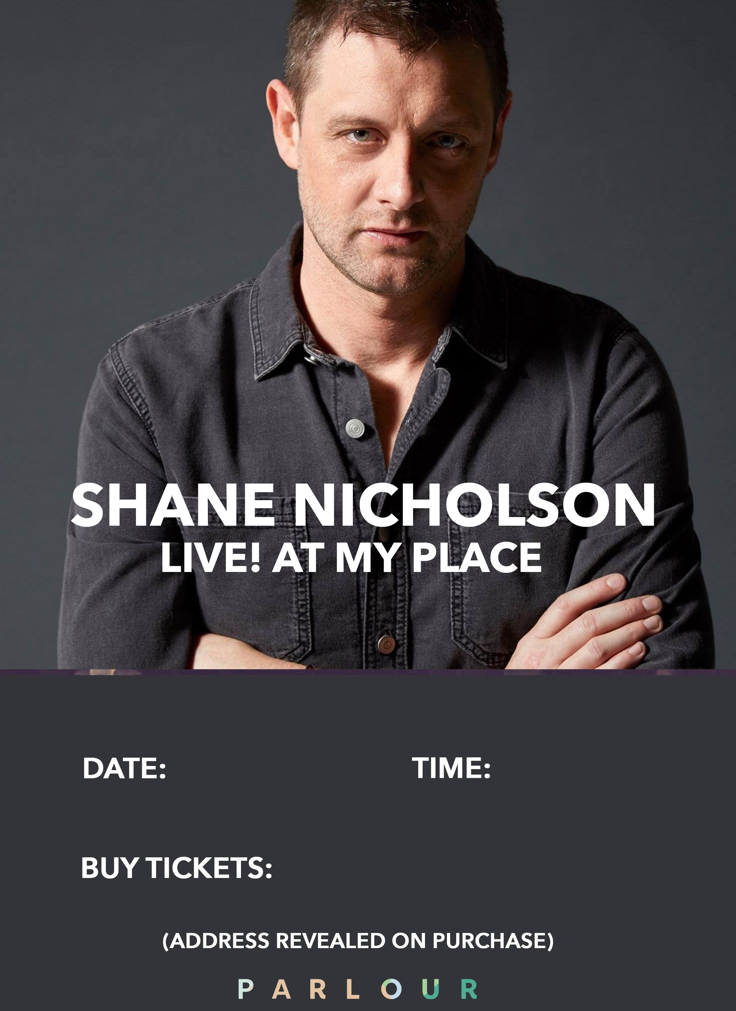 Shane NIcholson Poster