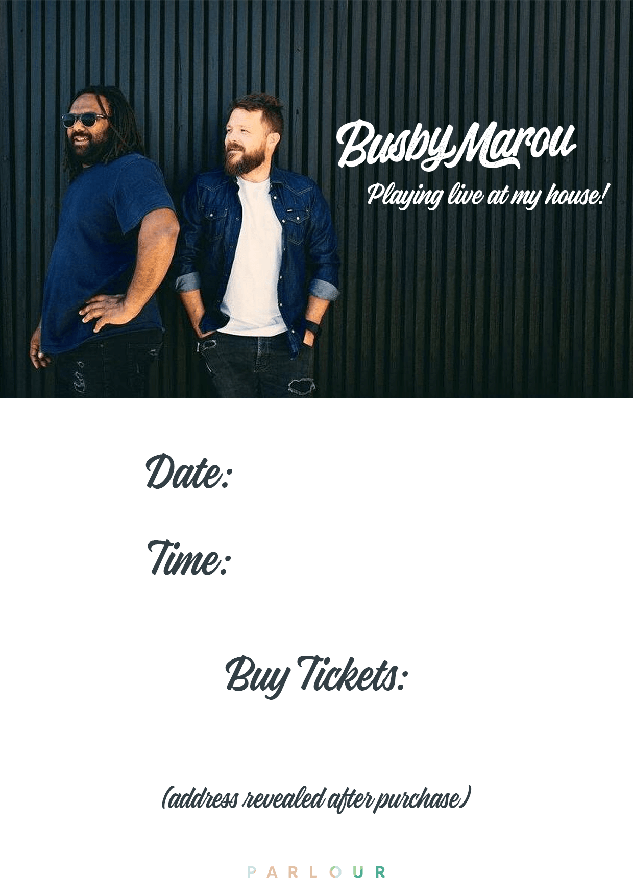 Busby Marou Host Poster.png
