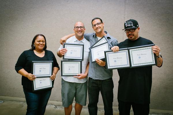 VRM Graduates - August 2015