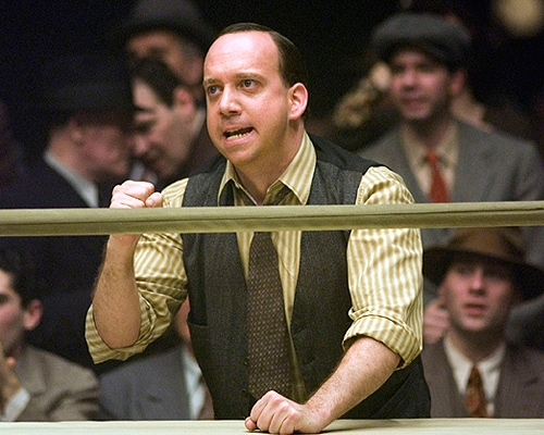 Joe Gould - played by Paul Giamatti