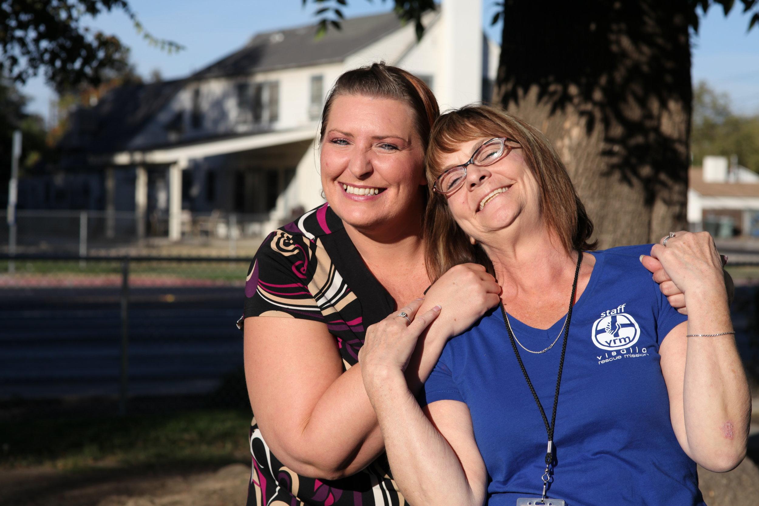 Amanda & Becky (VRM's Women's Ministry Director)