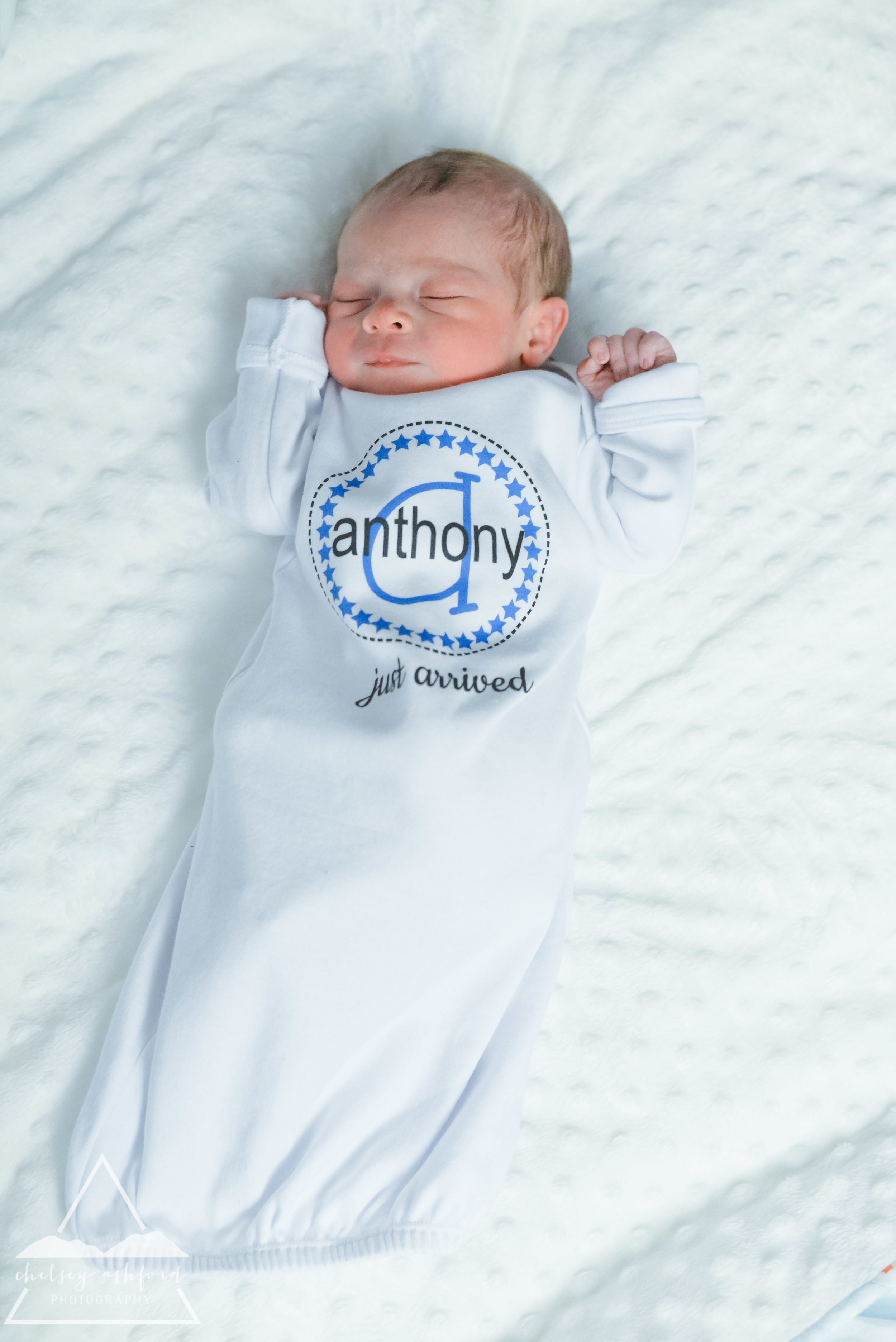 Anthony // Hospital Newborn Session // Chelsey Ashford Photography 2015