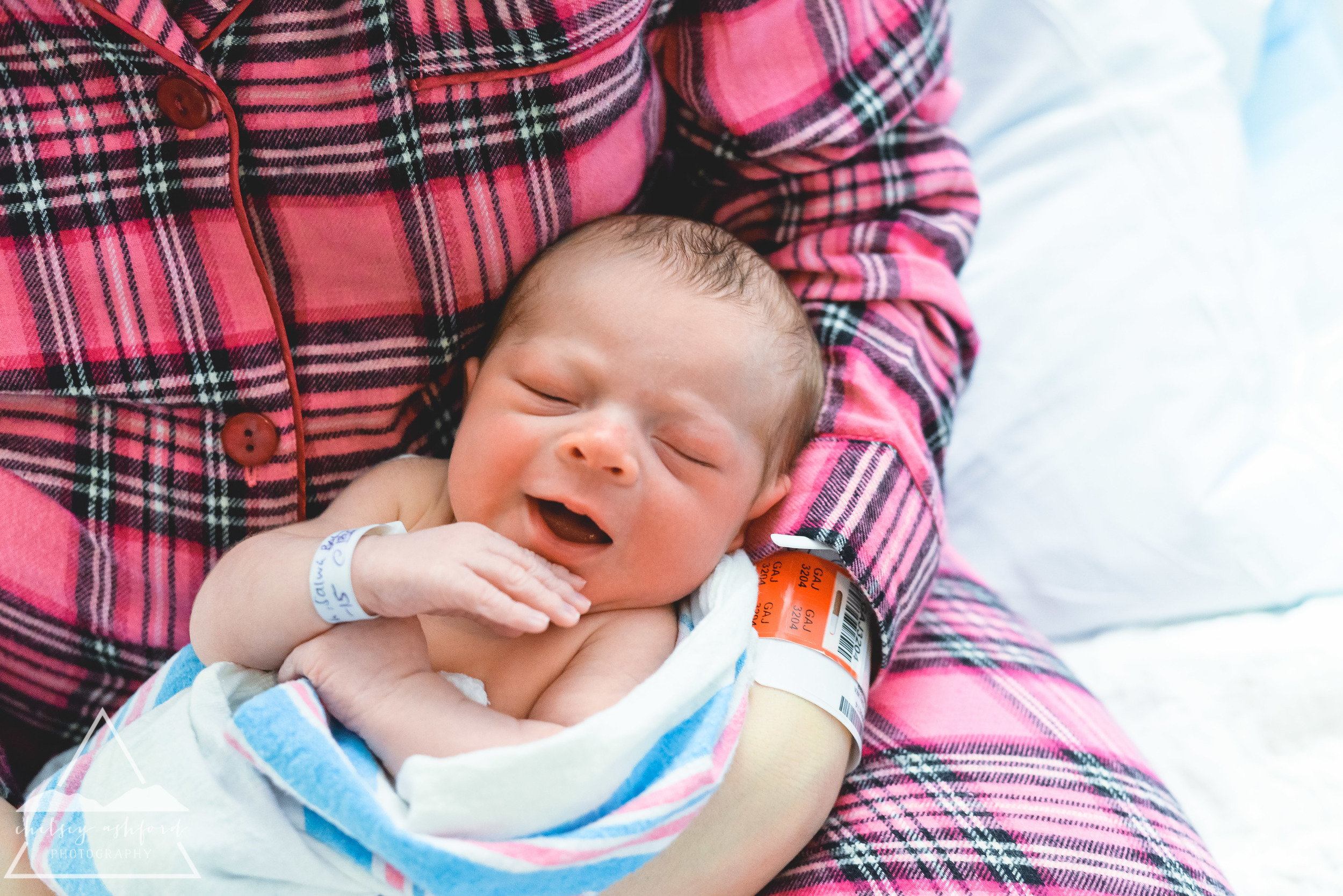 Anthony // Hospital Newborn Session