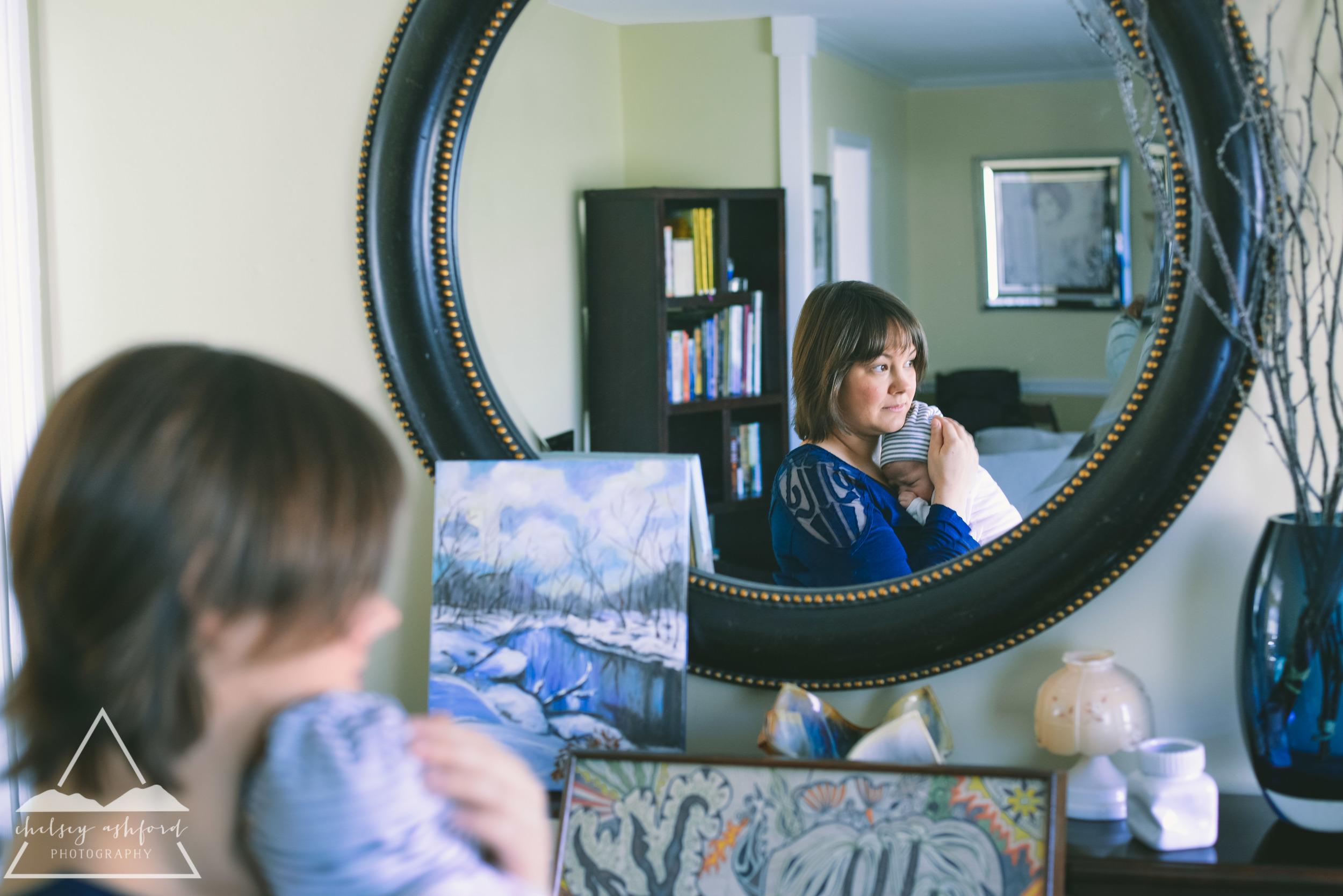 Lifestyle Newborn Session // Chelsey Ashford Photography 2015