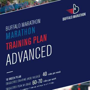 Marathon Advanced Training Plan