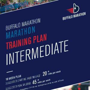 Marathon Intermediate Training Plan