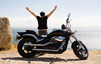 Motorcycle Insurance. Ride and Be Free.
