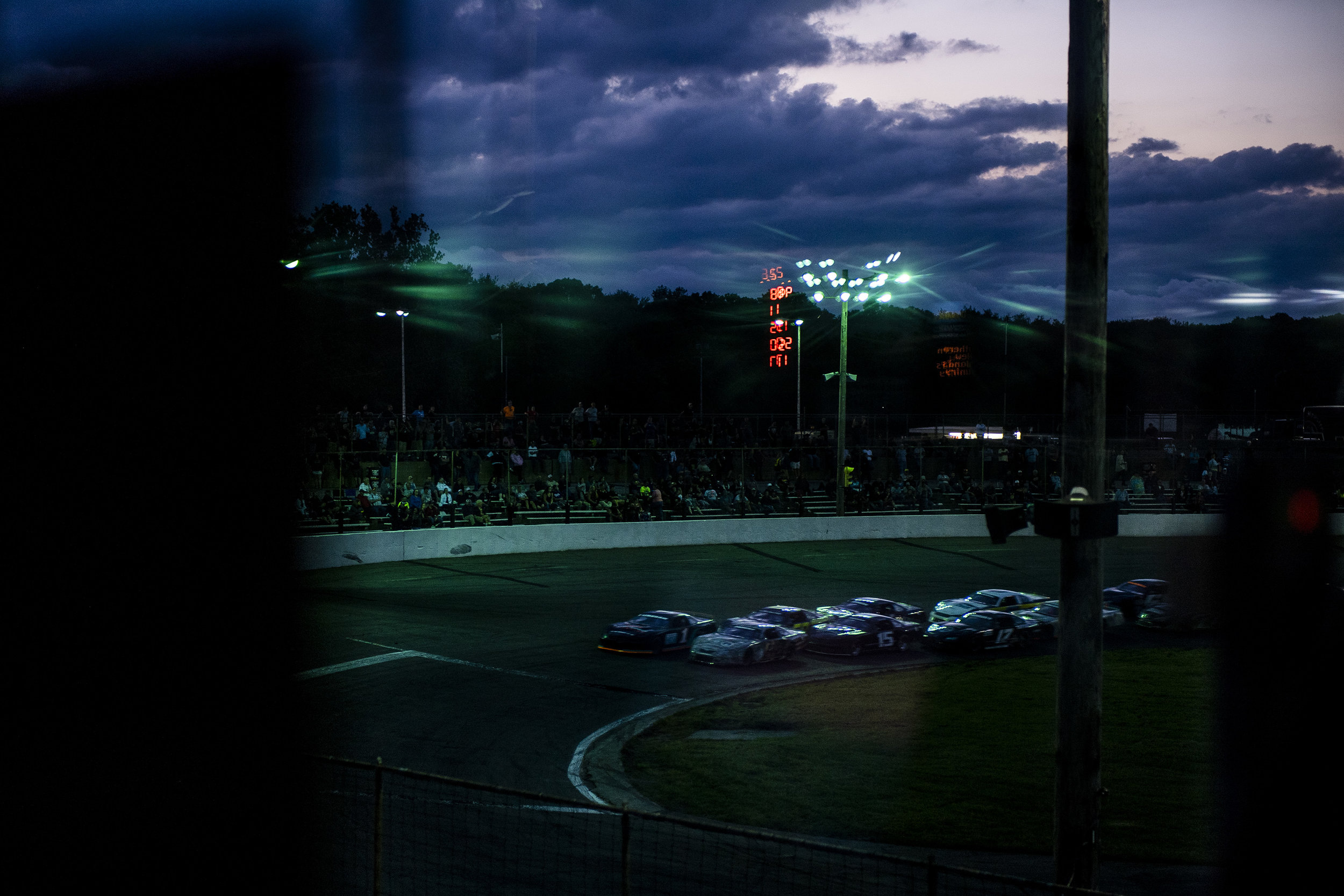 SEEKONK, MA - June 2: at Seekonk Speedway on June 2, 2018 in Seekonk, Massachusetts.  (Matthew Thomas/NASCAR)