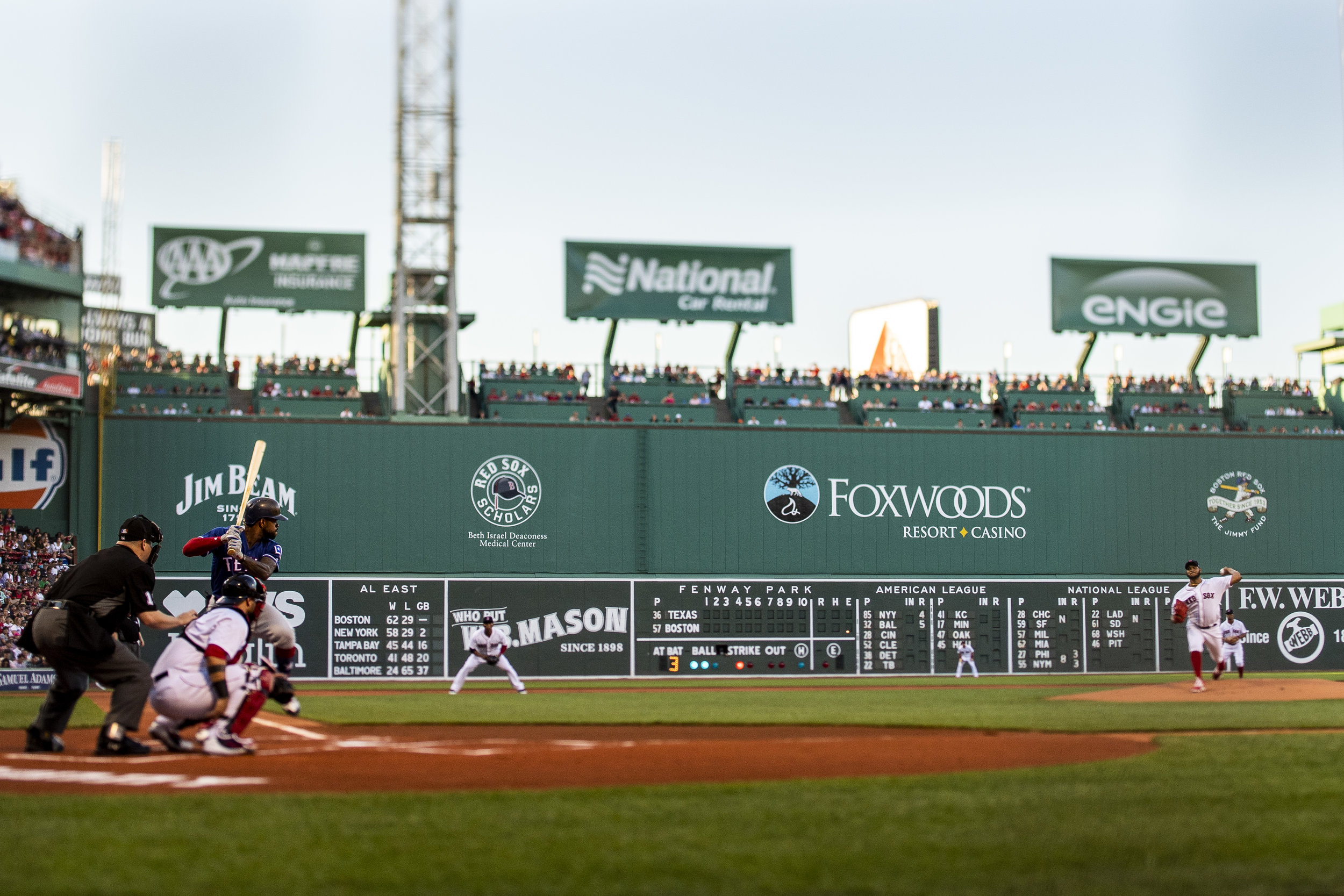 July 8, 2018, Boston, MA: Boston Red Sox pitcher Eduardo Rodriguez delivers a pitch as the Boston Red Sox face the Texas Rangers Fenway Park in Boston, Massachusetts on Monday, July 9, 2018. (Photo by Matthew Thomas/Boston Red Sox)