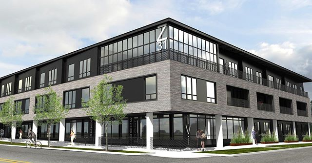 #meridian105architecture is working on a new mixed use development in Denver's Highlands neighborhood.  Project will have two buildings, 114 residences, parking, restaurant, and retail space.  Construction project n fall.  #denverarchitecture #modernarchitecture #lohi #coloradoarchitecture #brick #sanselmo