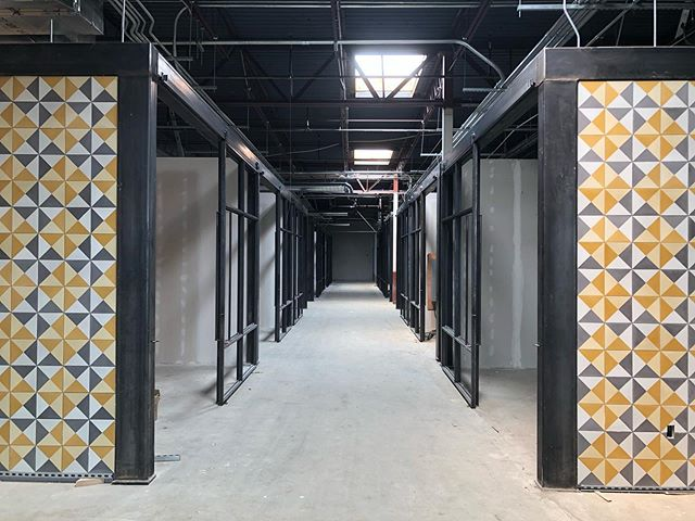 #meridian105architecture project the #edgewaterpublicmarket will open in fall of this year and feature awesome food, retail, and entertainment. #edgewatercolorado #mexicantile #interiordesign #industrialdesign #modernarchitecture #foodhall
