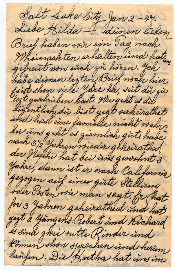 2 January 1947, p. 1