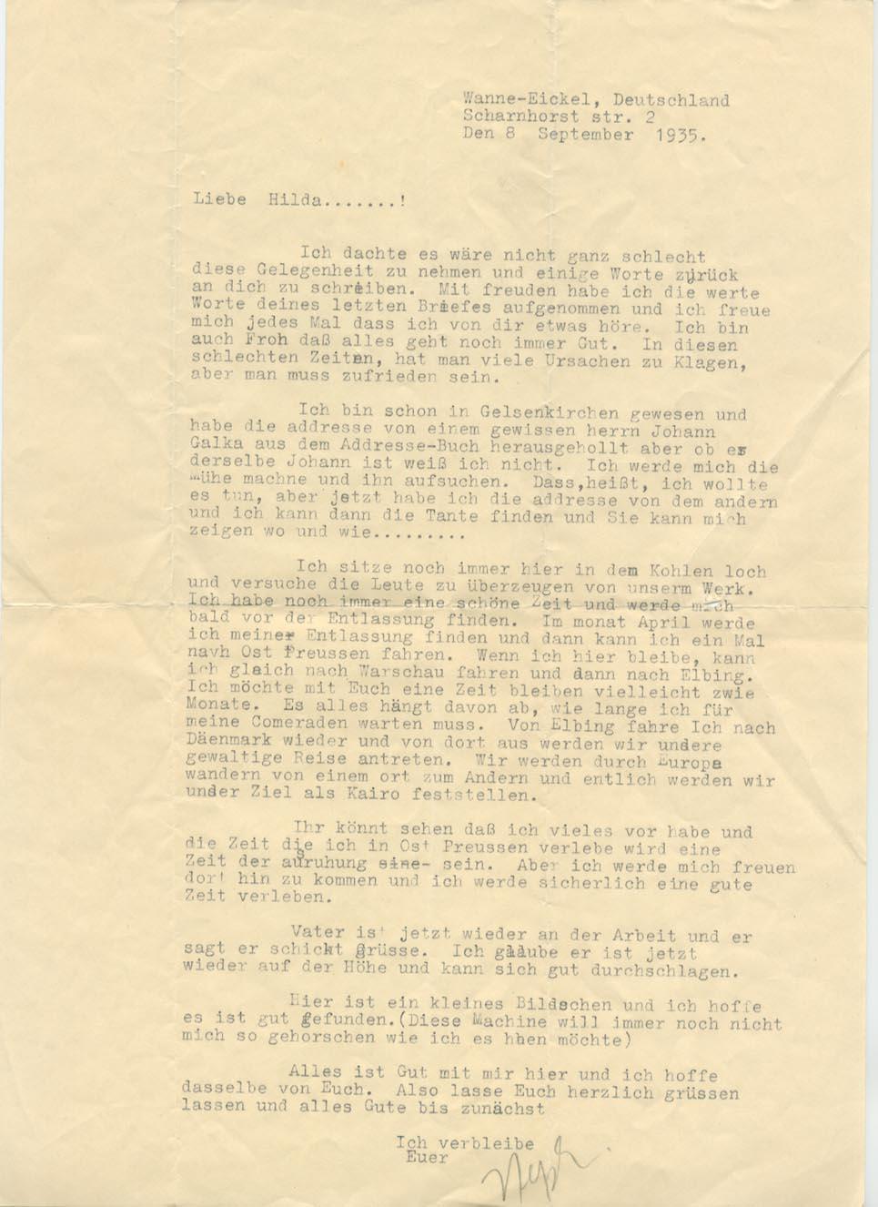 8 September 1935