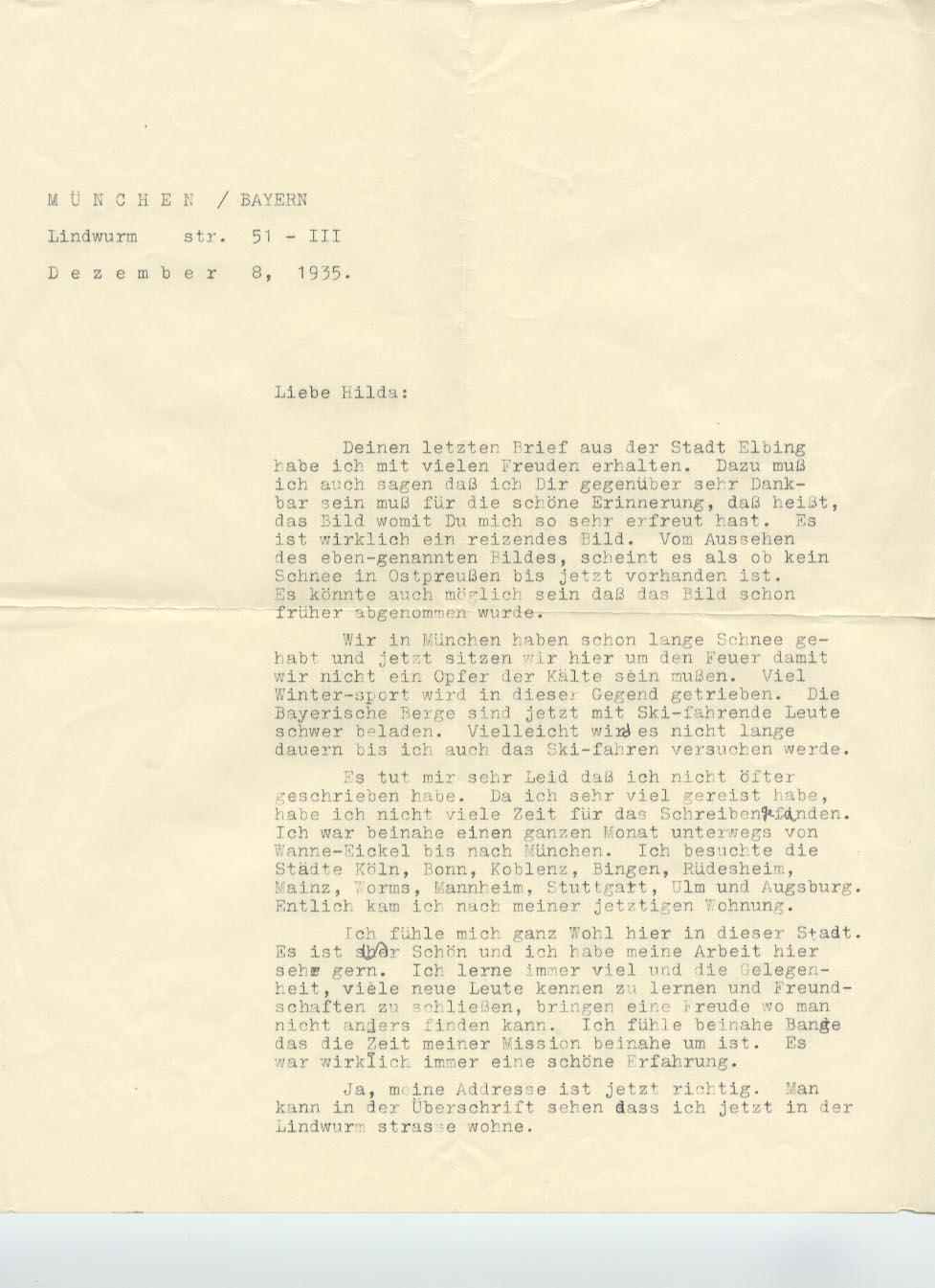 8 December 1935, p. 1