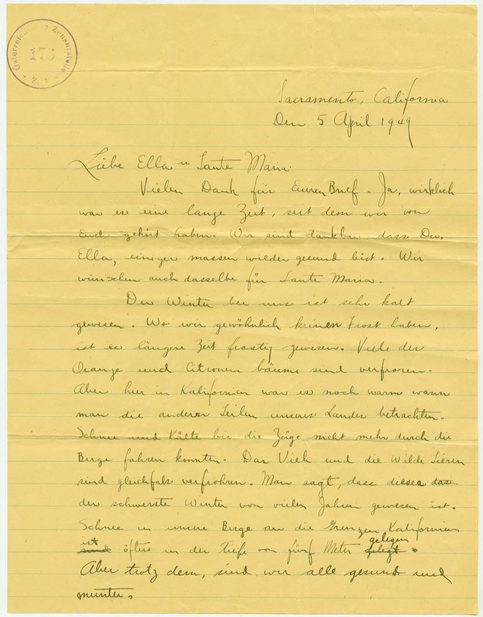 5 April 1949, p. 1