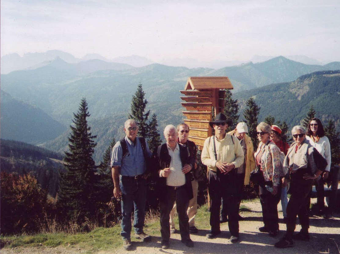 On Zwölferhorn Mountain in the Austrian Alps, 2006