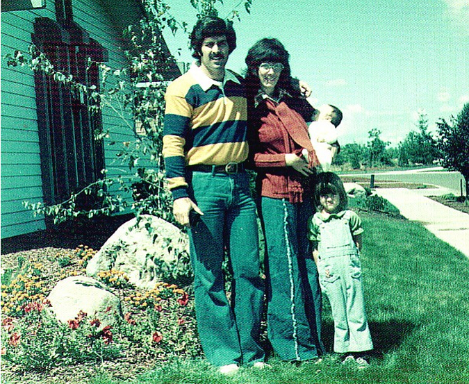 Bob & Kitsie as Young Marrieds