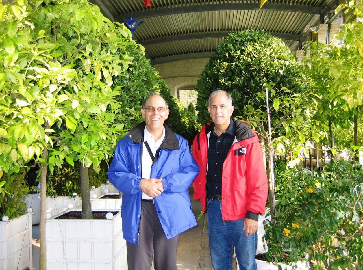 At the Orangerie in Weikersheim