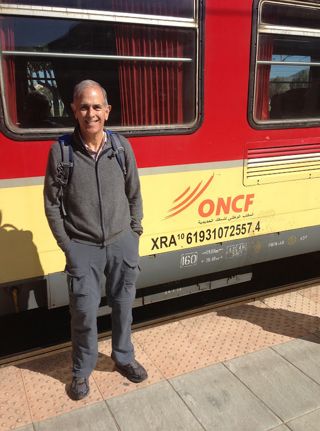 Train from Fez to Tangier