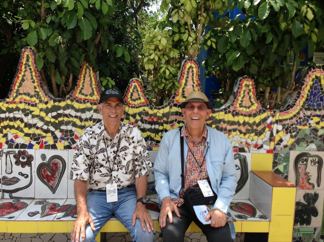 Bob and Dick at Fusterlandia
