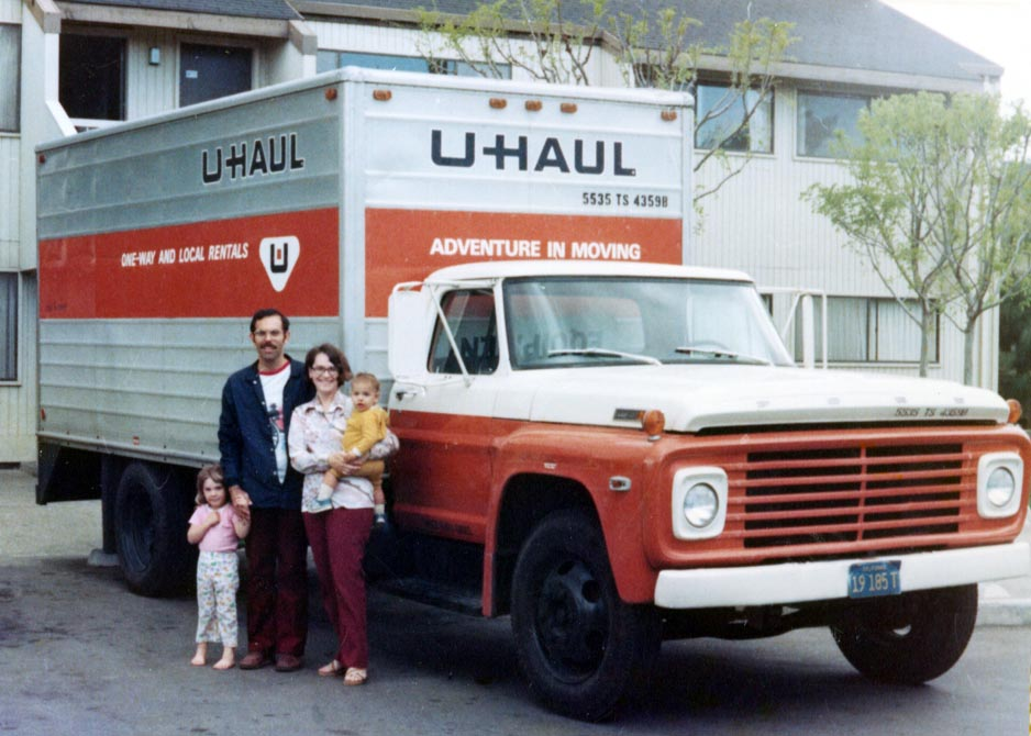 Heading to Corvallis, 1977