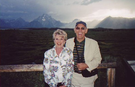 At Jackson Lake Lodge, 2005