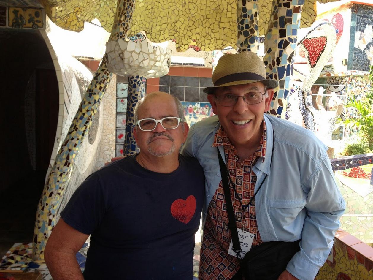 Meeting José Fuster in Havana