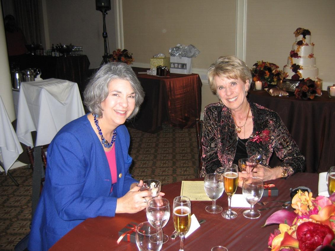 Joan and Marianne, 2007
