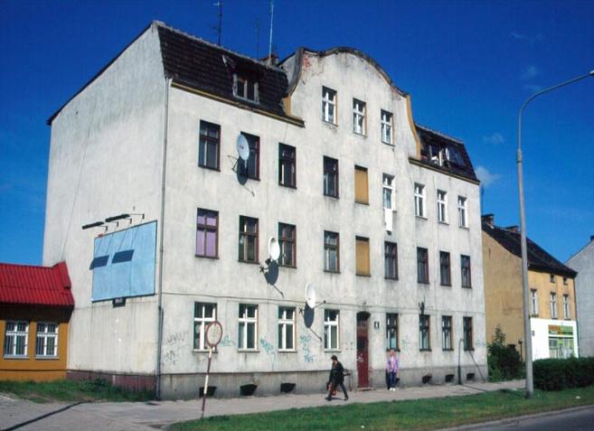 Galka/Scheffler House before 1945