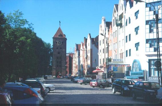 City of Elbing/Elblag in 2001
