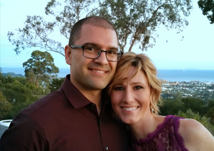 Robert Dean and his wife, 2014