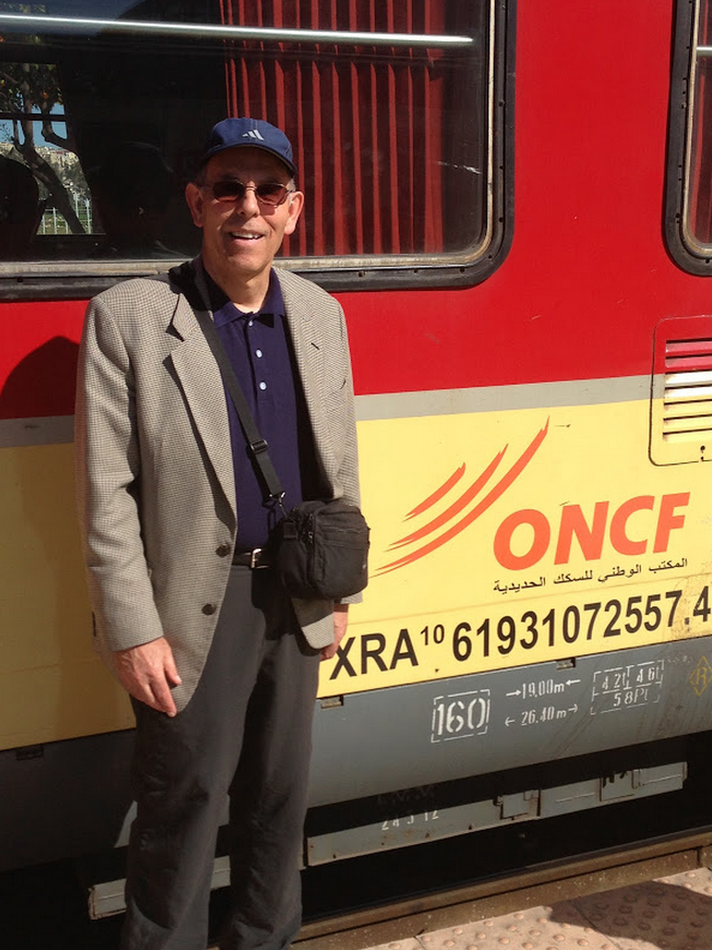Taking the Train from Fez to Tangier, 2014