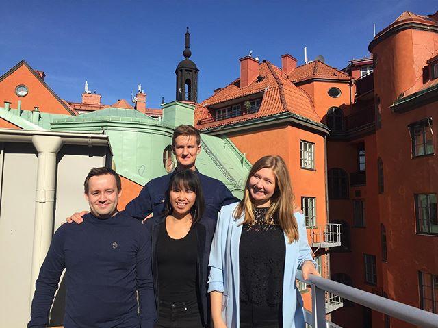 STOCKHOLM: Tre FNUF'ere + FNUF's generalsekretær er til møde med FNUF's moderorganisation. Her drøfter man fællesnordiske indsatser på tværs af de nationale foreninger. ☀️☀️🇸🇪