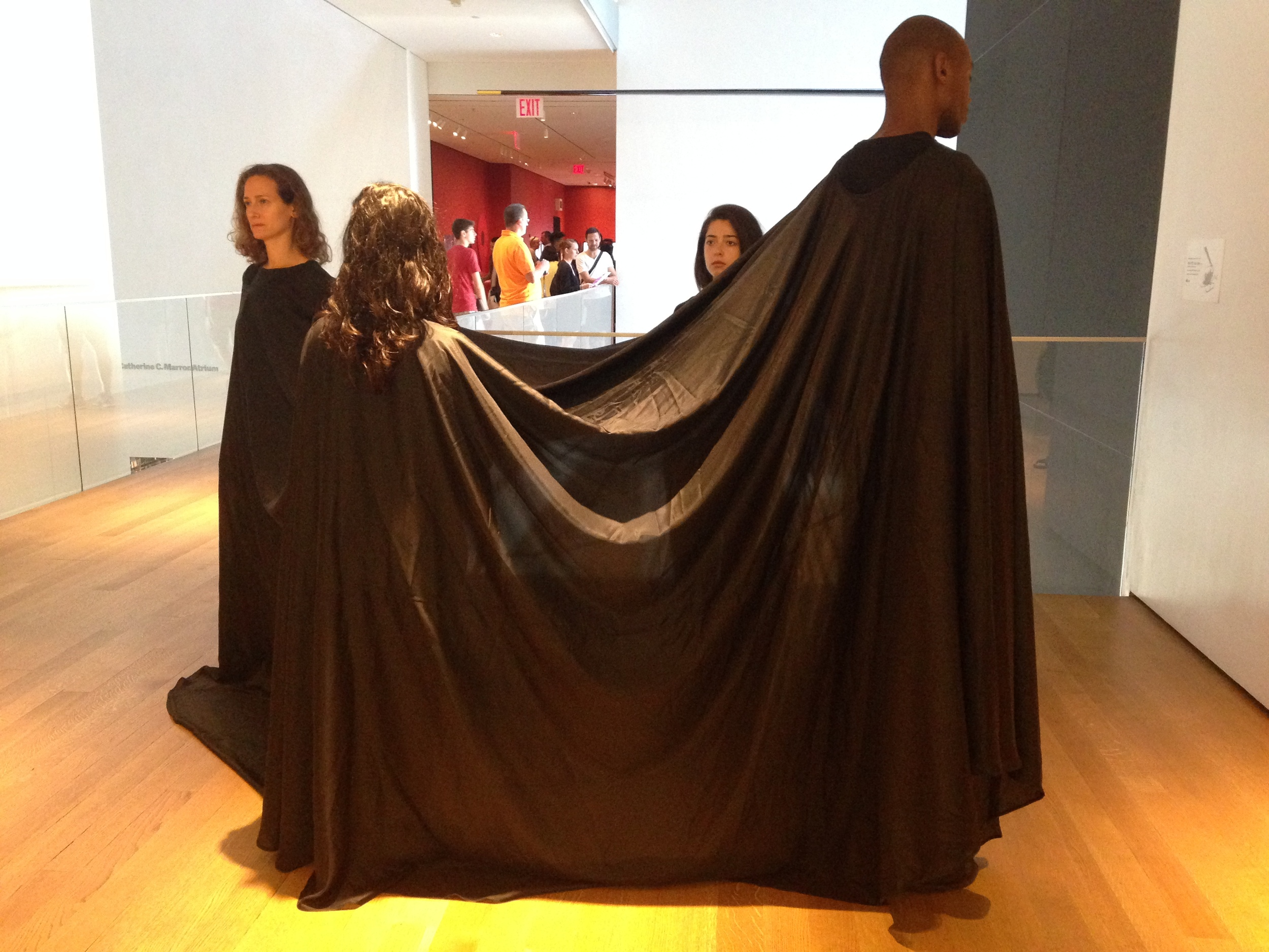 "JAMES LEE BYARS'S ""FOUR IN A DRESS"""