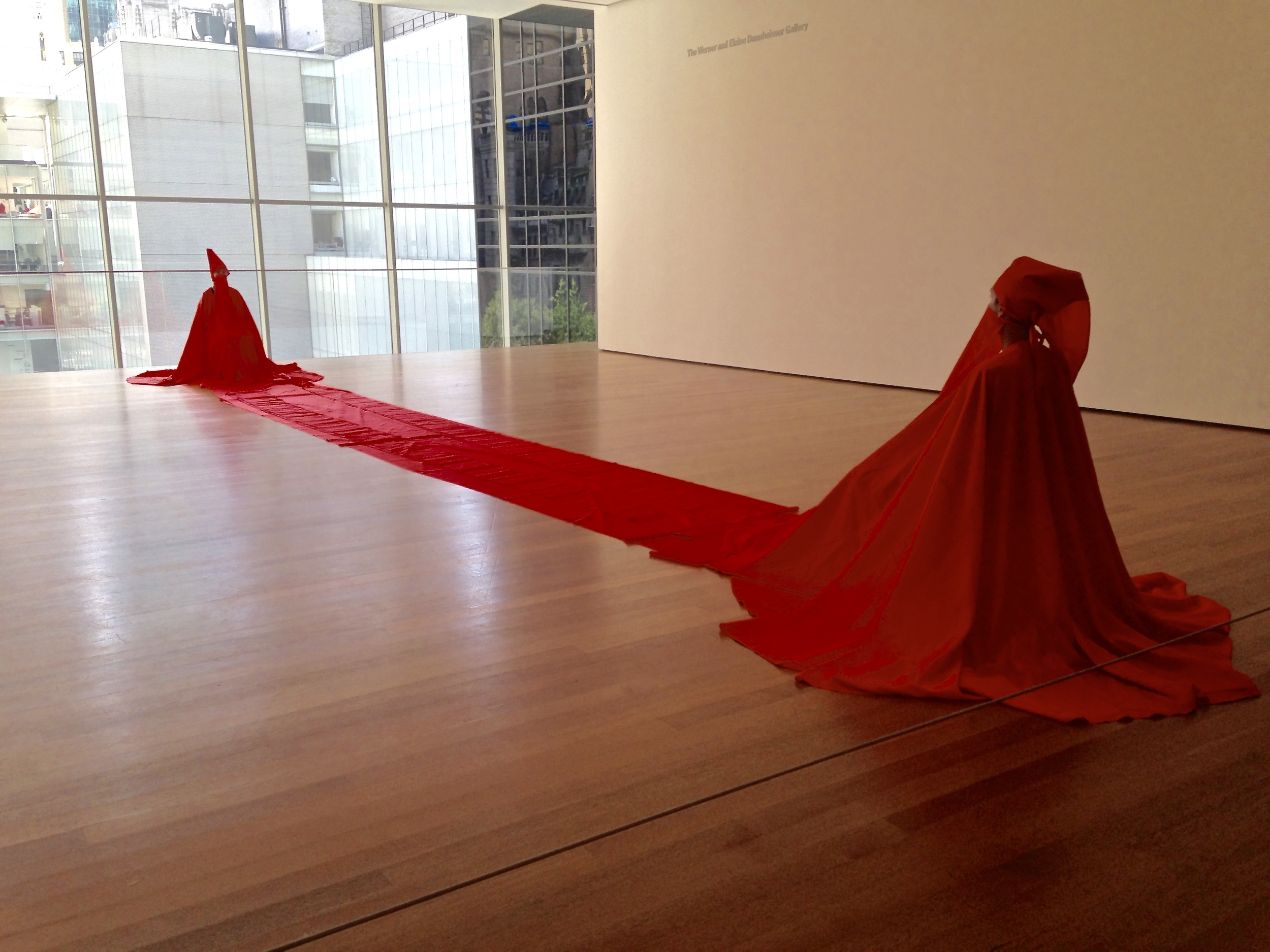 "JAMES LEE BYARS'S ""DRESS FOR TWO"""