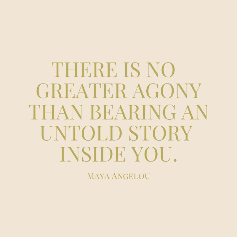 """There is no greater agony than bearing an untold story inside you."".png"