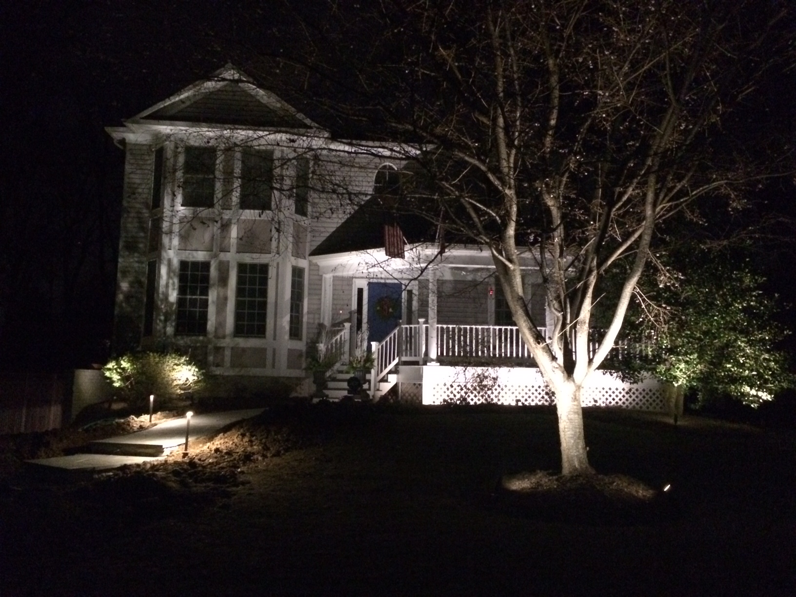Landscape Lighting that makes a difference