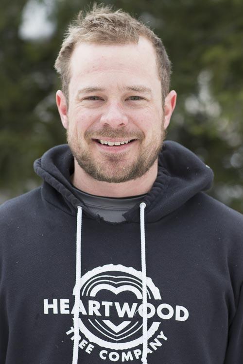 Arborist Phil Jenkins